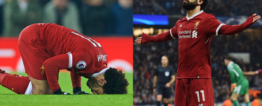 Mohamad Salah is making people love Islam for all the right reasons.
